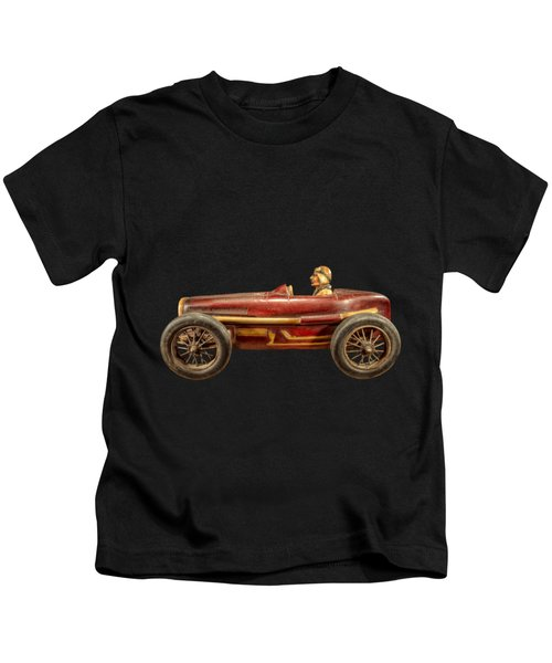 Red Racer Left Kids T-Shirt