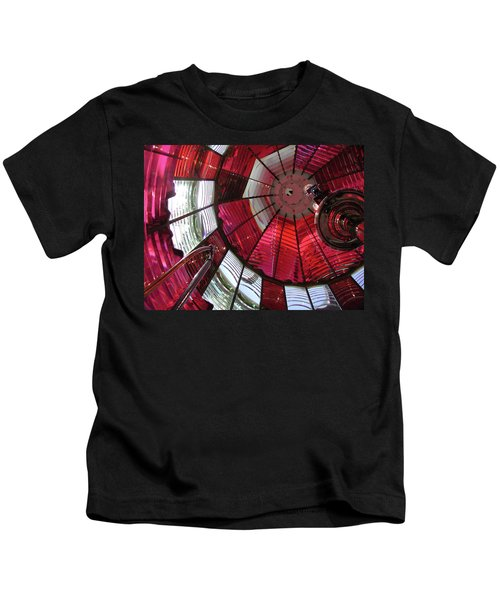 Red Reflections Kids T-Shirt