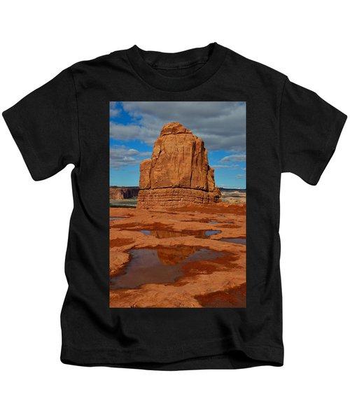 Red Rock Reflection Kids T-Shirt