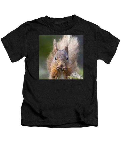 Red Squirrel - Scottish Highlands #28 Kids T-Shirt