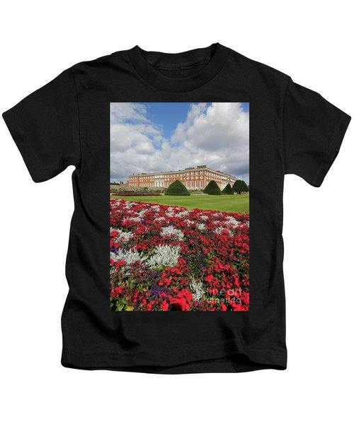 Red White And Blue At Hampton Court Kids T-Shirt