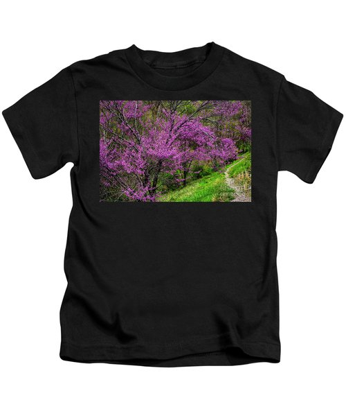 Redbud And Path Kids T-Shirt