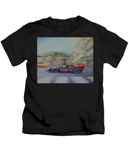 Redbull Racing Car Monaco  Kids T-Shirt