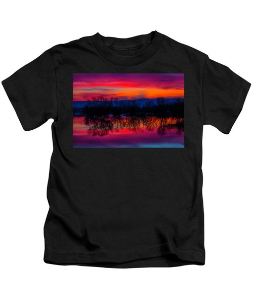 Reddening Sunset Kids T-Shirt