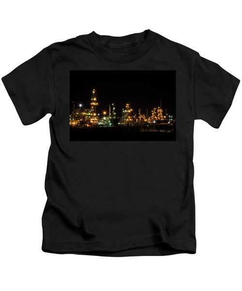Refinery At Night 2 Kids T-Shirt