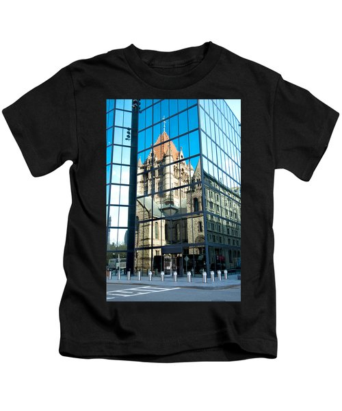 Reflecting On Religion Kids T-Shirt