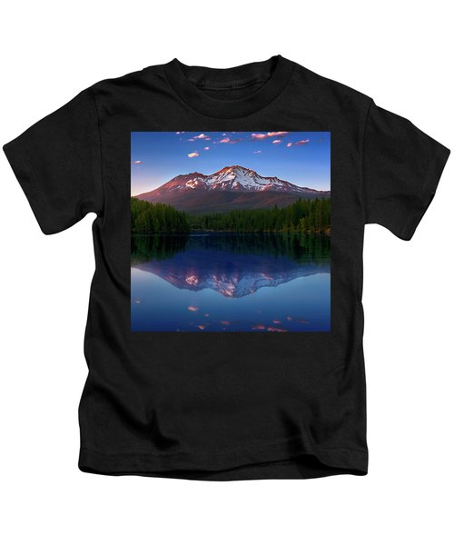 Reflection On California's Lake Siskiyou Kids T-Shirt