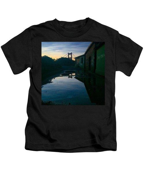 Reflecting On Past Wars Kids T-Shirt