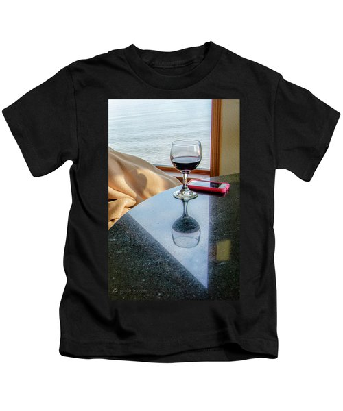 Reflections Lake Superior.... Kids T-Shirt