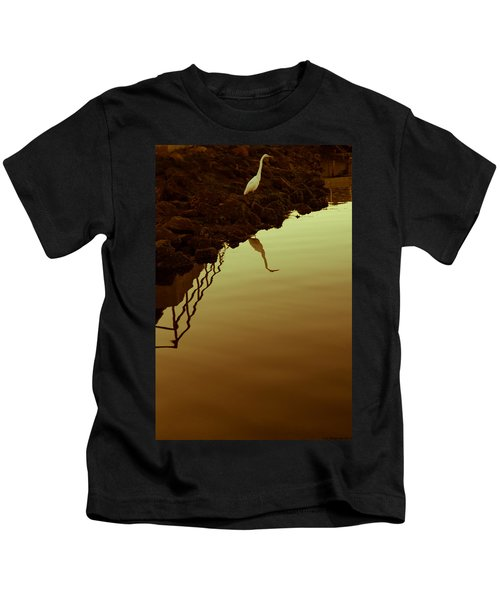 Elegant Bird Kids T-Shirt