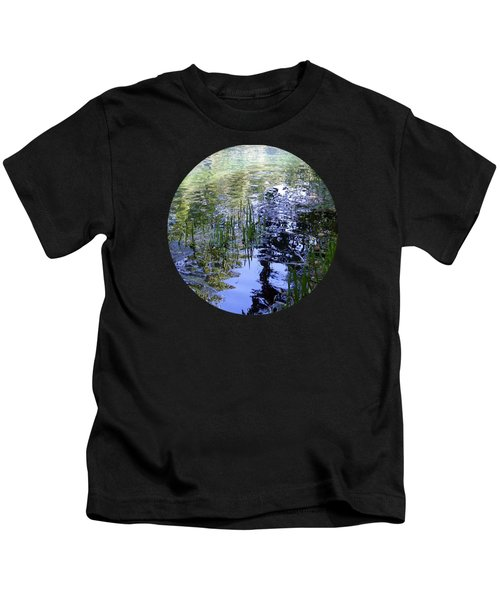 Reflections  Kids T-Shirt by Mary Wolf