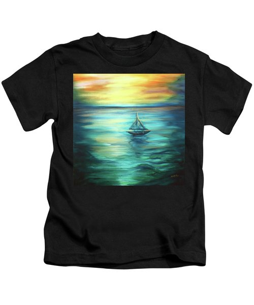 Reflections Of Peace Kids T-Shirt