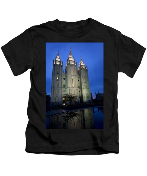 Reflective Temple Kids T-Shirt