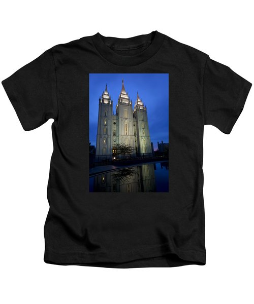 Reflective Temple Kids T-Shirt