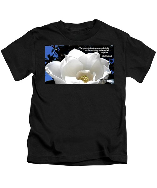 Relief 2, With Quote.  Kids T-Shirt