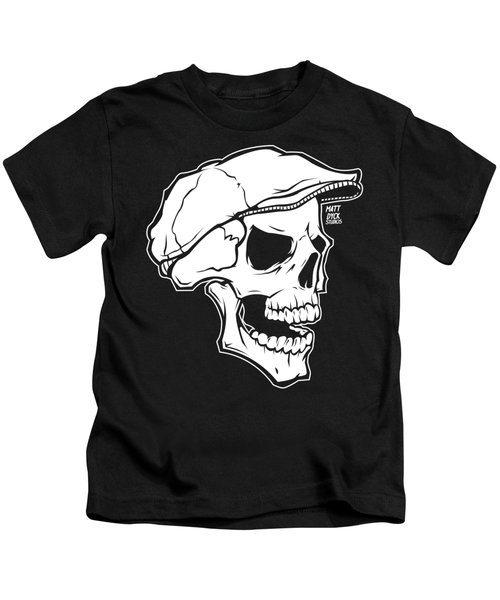 Retro Skull Kids T-Shirt
