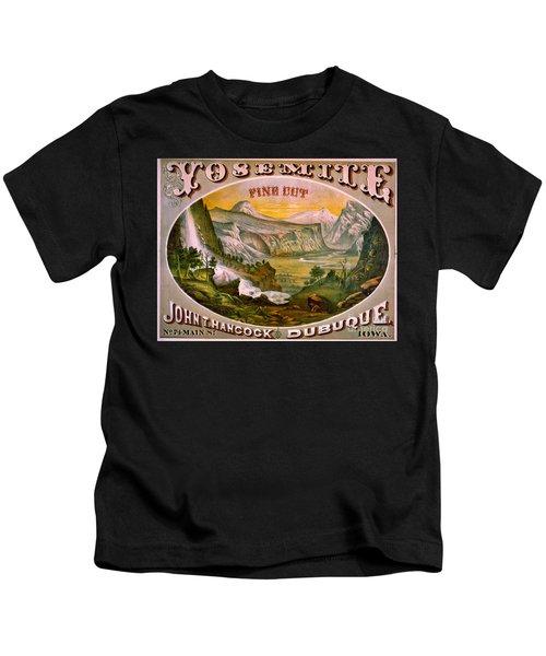 Retro Tobacco Label 1872 B Kids T-Shirt