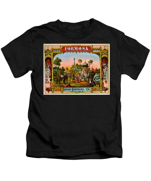 Retro Tobacco Label 1872 C Kids T-Shirt