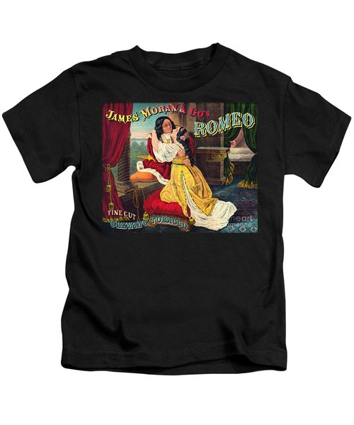 Retro Tobacco Label 1874 A Kids T-Shirt