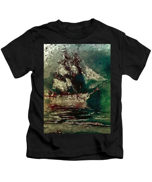 Return Of The Flying Dutchman Kids T-Shirt