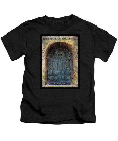 Revelation 3 Vs 20 Kids T-Shirt