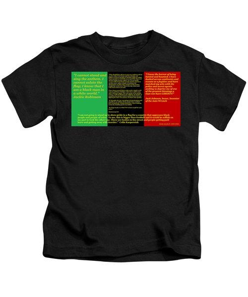Colin Kaepernick Rbg Kids T-Shirt