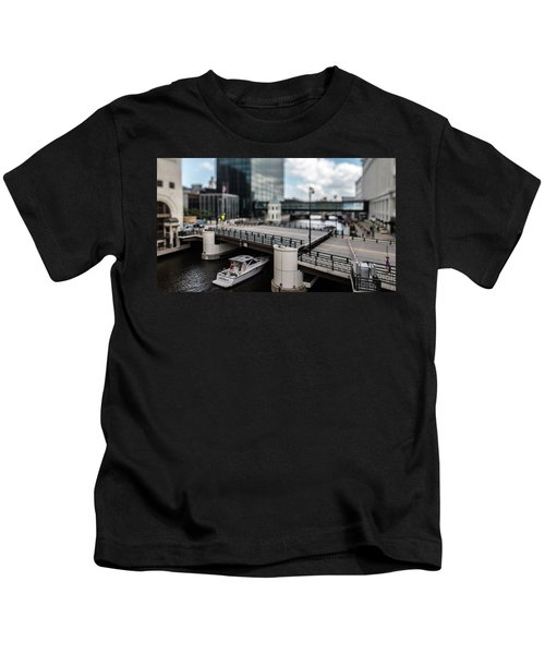 Rich People Holding Up Traffic In The Itty-bitty-city Kids T-Shirt
