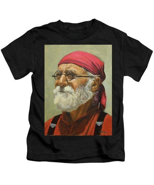 Rickabod At High Noon Kids T-Shirt