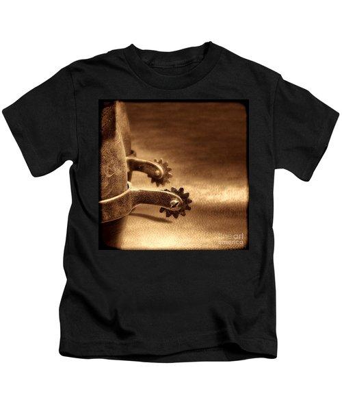 Riding Spurs Kids T-Shirt