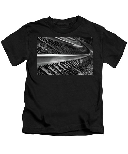 Riding The Rail Kids T-Shirt