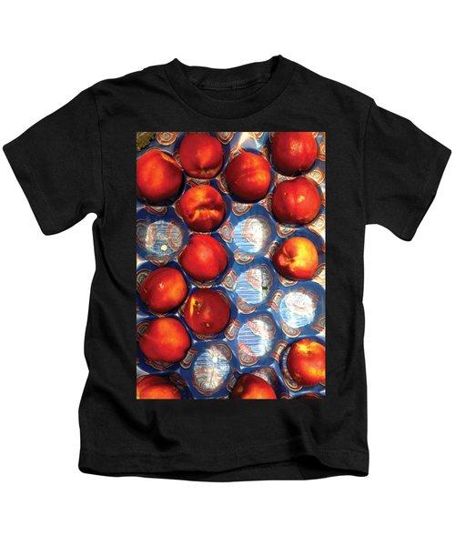 Ripe Peaches Kids T-Shirt