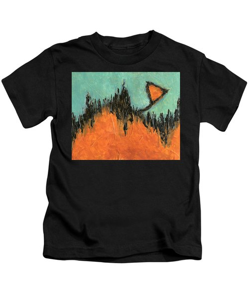 Rising Hope Abstract Art Kids T-Shirt