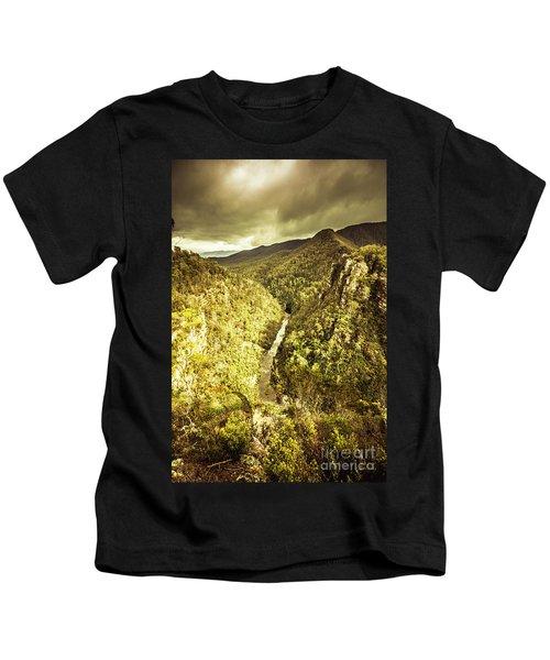 River Below Kids T-Shirt