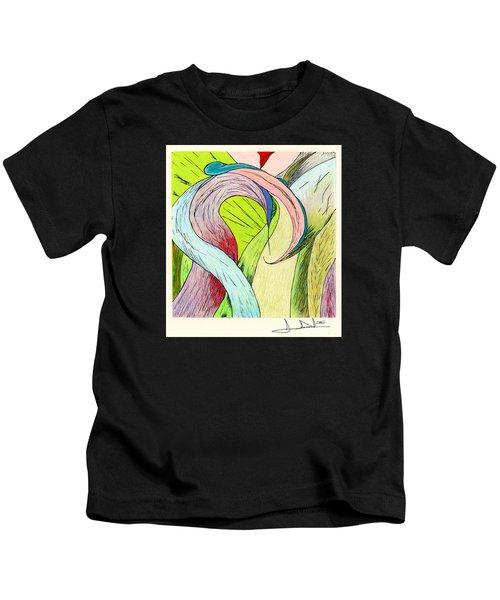 River Grass Up Close Kids T-Shirt