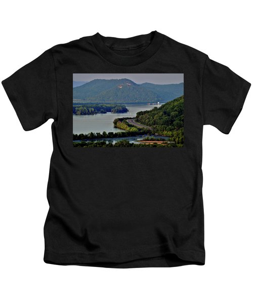 River Navigation Kids T-Shirt