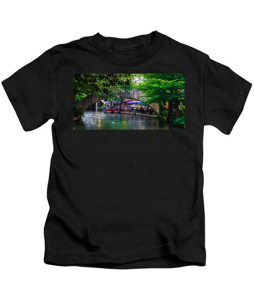 River Walk Dining Kids T-Shirt