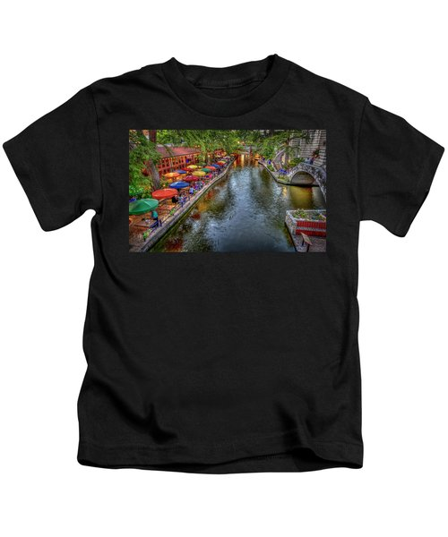 Riverwalk San Antonio Texas Kids T-Shirt