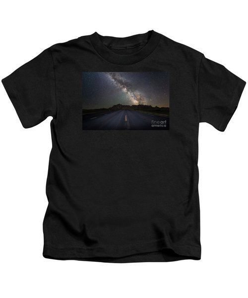 Road To The Heavens Kids T-Shirt