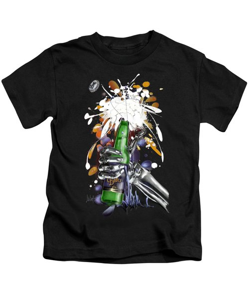 Robo Beer Kids T-Shirt