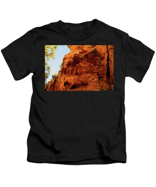 Rock Art From Utah Kids T-Shirt