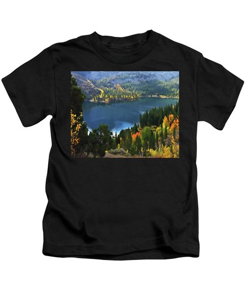 Rock Creek Lake In Fall Kids T-Shirt
