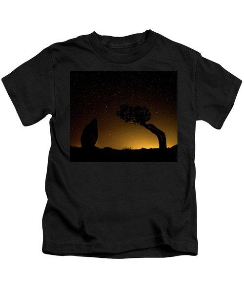 Rock, Tree, Friends Kids T-Shirt
