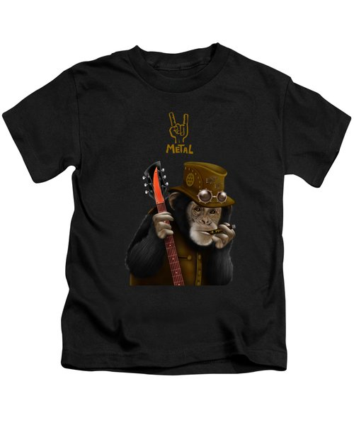 Rockers Of The Apes Kids T-Shirt