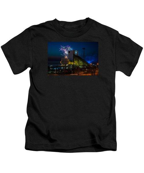 Rocking Fireworks Kids T-Shirt