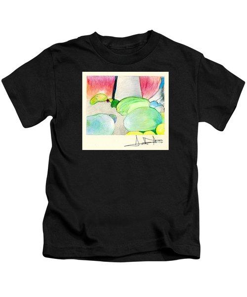 Rocks On Path Kids T-Shirt
