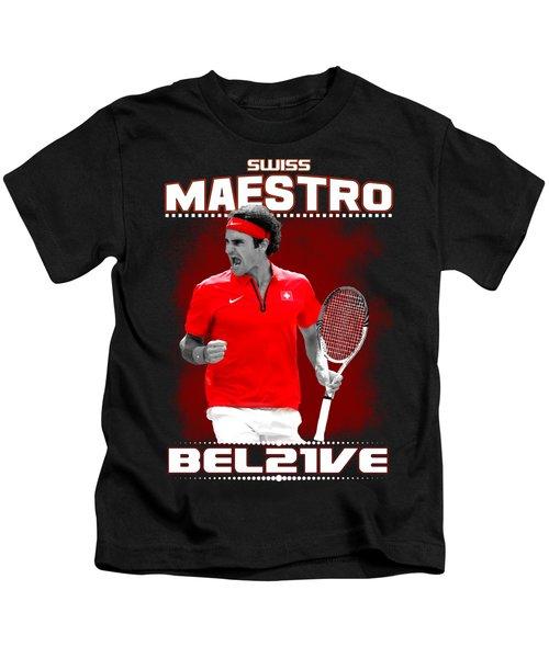 Roger Federer Maestro Kids T-Shirt