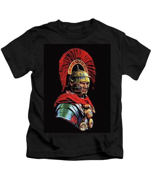 Roman Centurion Portrait Kids T-Shirt