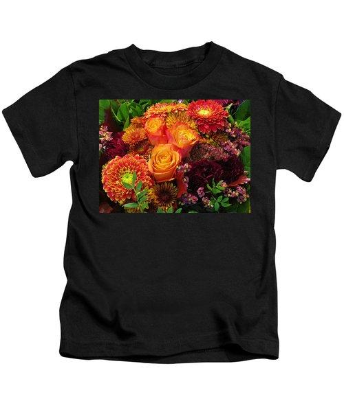 Romance Of Autumn Kids T-Shirt