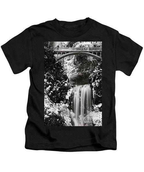 Romantic Moments At The Falls Kids T-Shirt