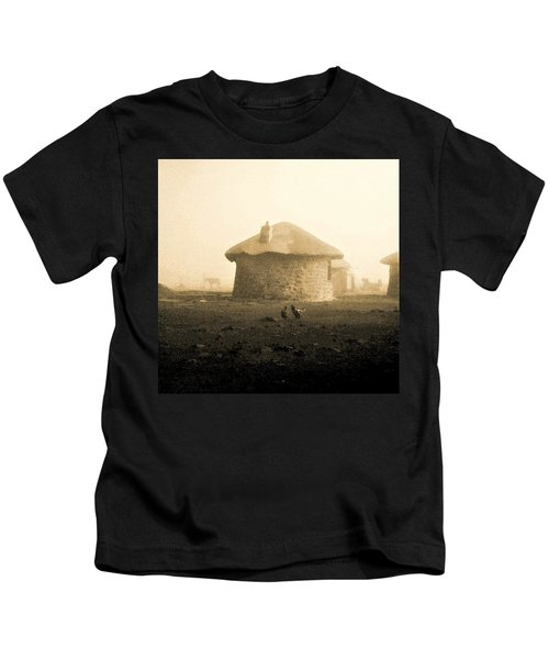 Rondavel In Lesotho Kids T-Shirt